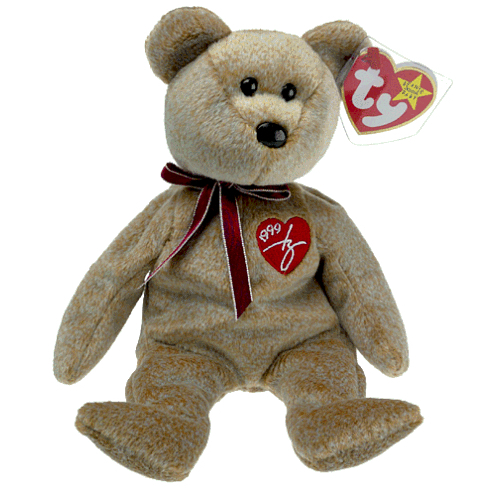Ty 1999 Signature Bear Beanie Baby With Tag Sku112903p for sale online