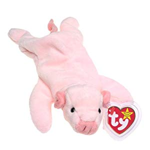 Ty Beanie Baby Squealer RARE Many Errors On Tags PVC Pellets
