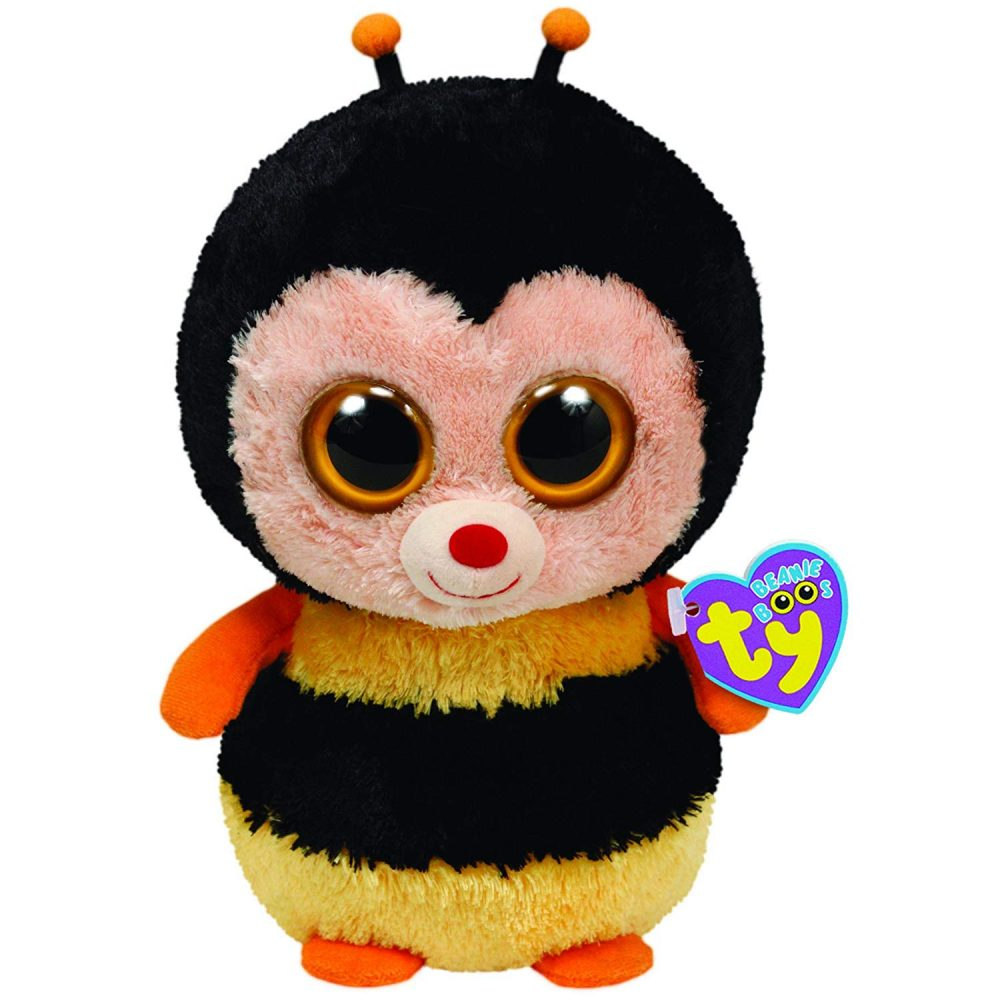 McDonalds Happy Meal TY Bumble Bee The Toy Plush Animal # 6/2000/by McDonald s McDonald/'s