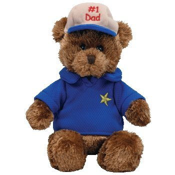 All Star Dad 2005 8in Ty Beanie Babie Fathers Day Bear MWMT 40359 for sale online