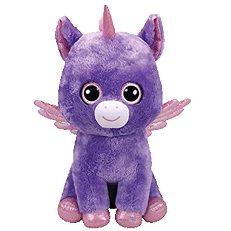 Ty Beanie Babies 36294 Boos Athena the Unicorn with Wings Boo Large