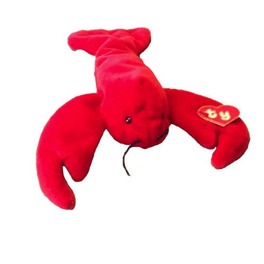 Punchers the Lobster   Beanie Babies   Beaniepedia dcef65e7d51