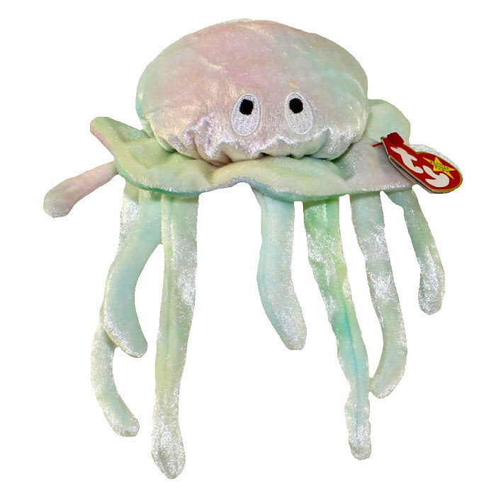 Ty Beanie Babies Goochy The Jellyfish Rare Retired Mint Condition