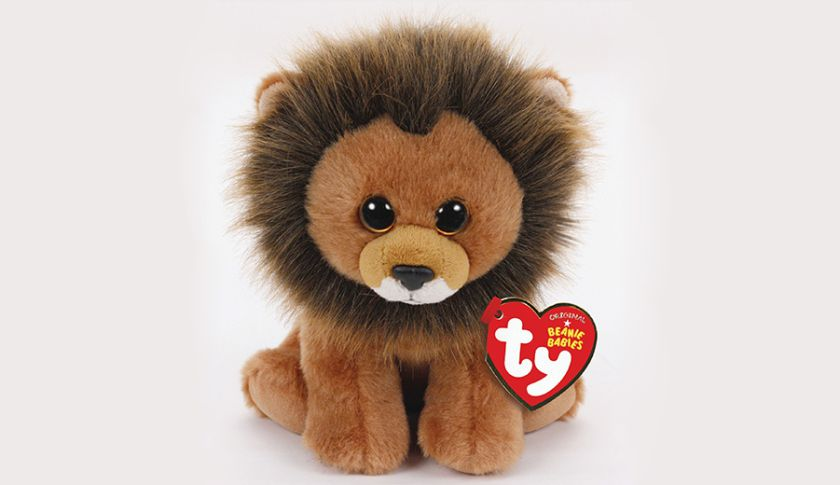 Ty Warner introduces Cecil the Lion Beanie Baby - 100% of profits from the original sale to WildCRU, the Wildlife Conservation Research Unit of University of Oxford in Oxford England. (PRNewsFoto/Ty Inc.)