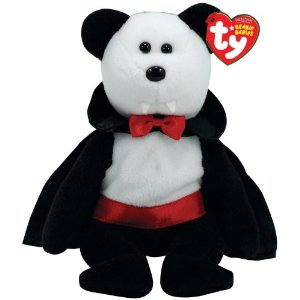 2ba1f5fe7cc Baron Van Pyre isn t the first vampire bear Beanie Baby. He is almost  identical to a previous vampire bear called Count. The only difference  between them is ...