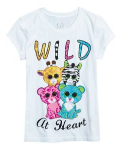 One Response To New Beanie Boo T Shirt Available At Justice