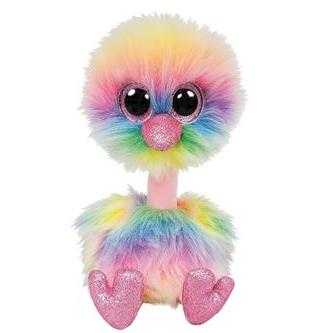 f18b6ea7143 He will also have small and medium size options. Both ostrich Beanie Boos  ...