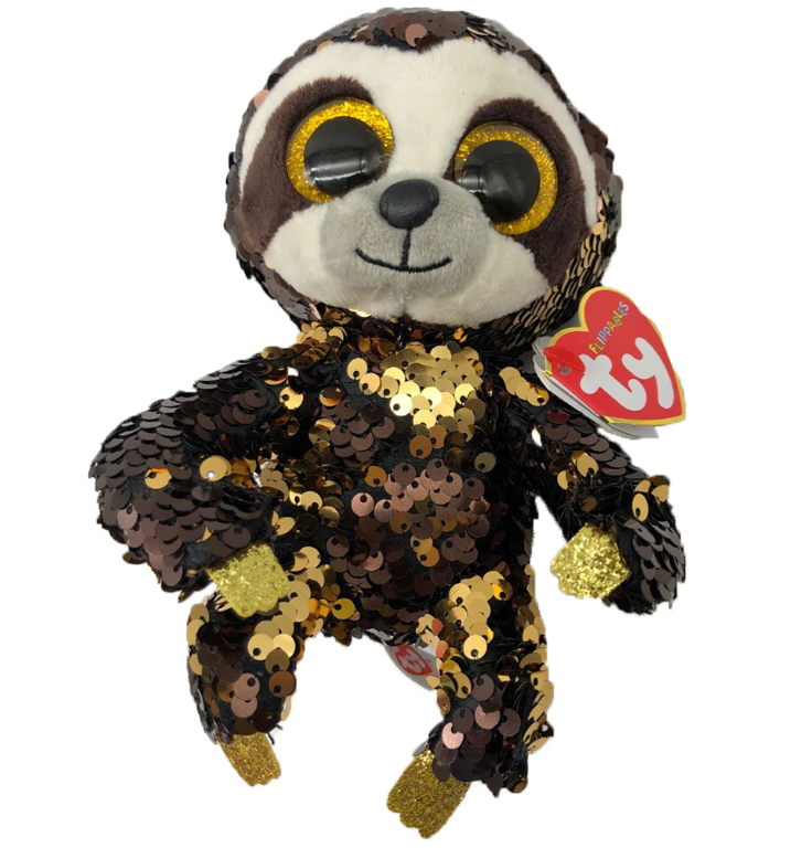 Dangler the Sloth Flippable Beanie Boo