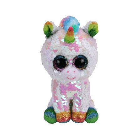 Pixy the Unicorn Flippable Beanie Boo