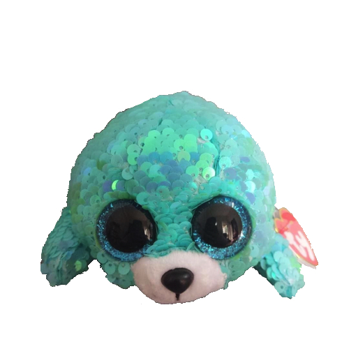 Whimsy the Cat Flippable Beanie Boo I also found a picture of this cute  little seal Flippable called Waves. He s a kind of pearly turquoise colour de7f1b333a64